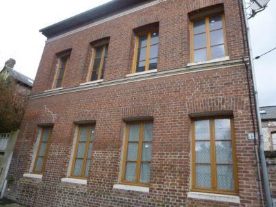 où trouver une maison en briques proche caudebec lès elbeuf 76