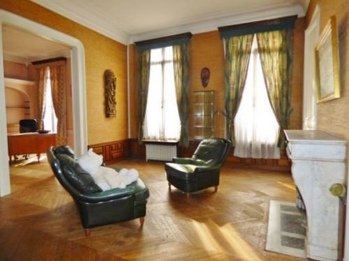 Jolie Maison de Maître 250 m² hab., en centre ville d'Elbeuf sur Seine 76500, en vente, 5 chambres, grenier aménageable 80 m² et belle cave 80 m²